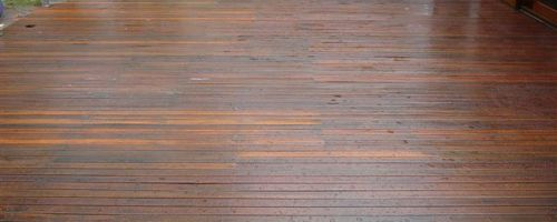 How to Get your timber ready for staining.